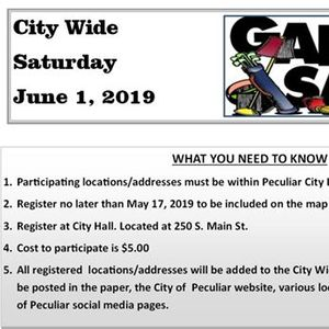Glasco City Wide Garage Sales events in the City  Top Upcoming