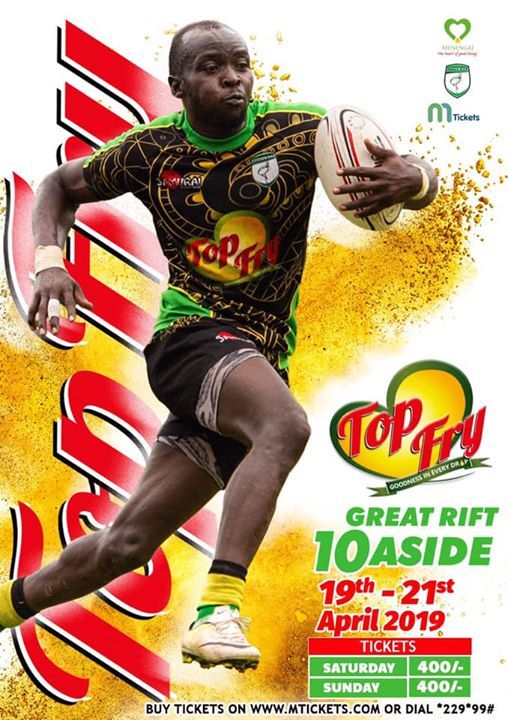 TOP FRY Great Rift 10-Aside Rugby Tournament 2019