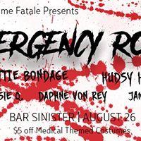 Bar Sinister Femme Domme Fatale Emergency Room