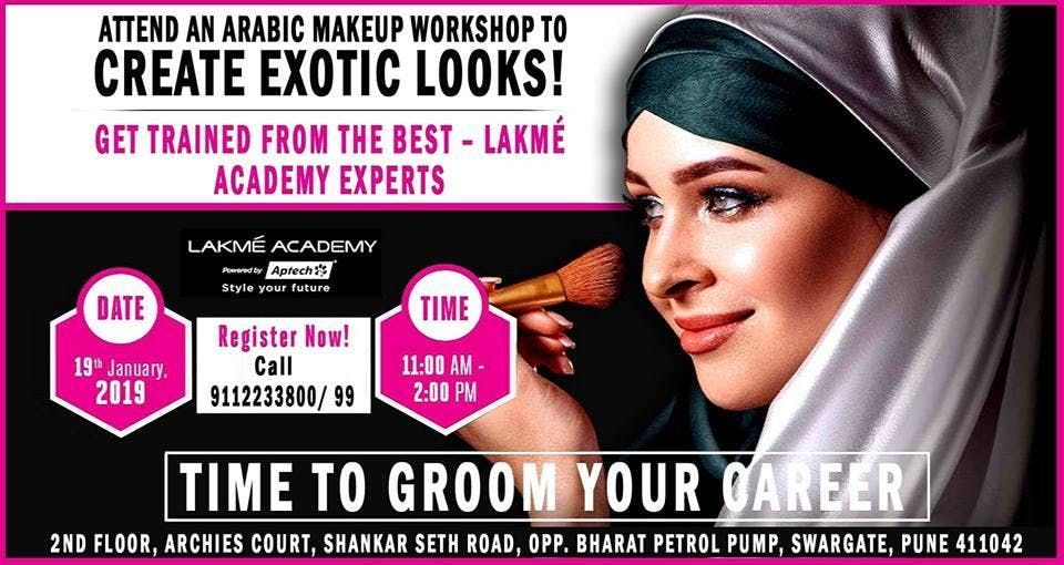Attend An Arabic Makeup Workshop To Create Exotic Looks