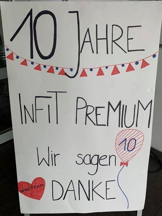 10 Jahre Infit Premium