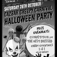 CAZBAR CREEPY CARNIVAL HALLOWEEN PARTY