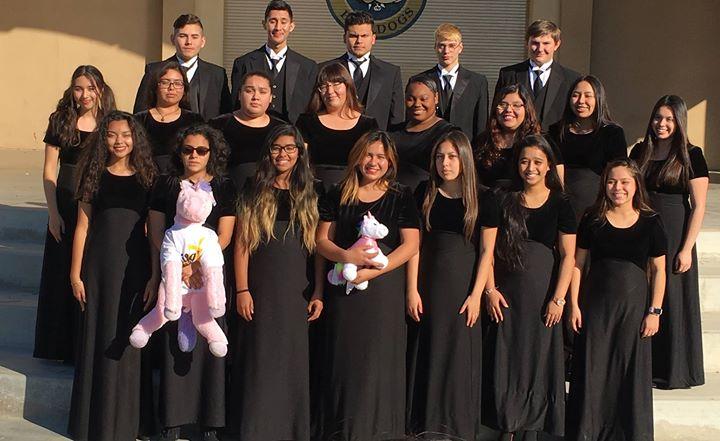 Golden Valley Hs Choir Winter Concert At Golden Valley High School