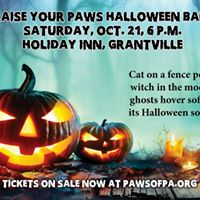 PAWS Halloween Ball sponsored by Hershey Veterinary Hospital