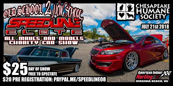 Old School To New School Charity Car Show At American Indoor Karting - Virginia beach car show