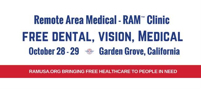 concorde career college garden grove. Garden Grove, CA - Free RAM Medical Clinic At Concorde Career College CA, Grove C