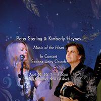 Kimberly HaynesPeter Sterling concert event in Sedona AZ 429