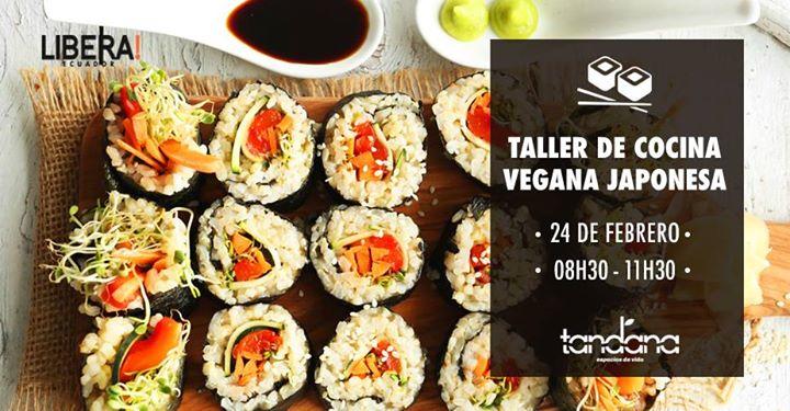 Taller de cocina vegana japonesa