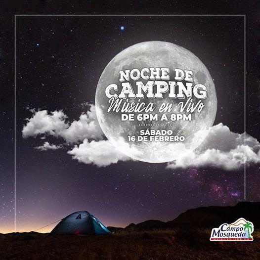 Noche de Camping