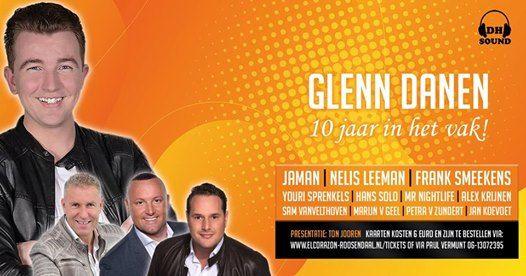 Glenn Danen  10 jaar in het vak