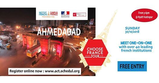 Choose France Tour 2018 - Ahmedabad