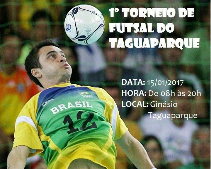 I Torneio De Futsal Do Tagua Parque