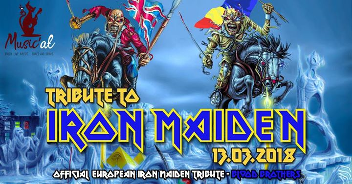 Tribute to Iron Maiden Blood Brothers Satu Mare