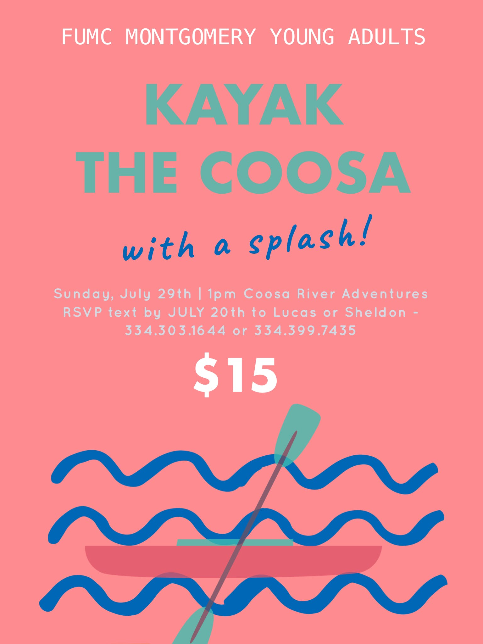Kayak the Coosa River at Coosa River Adventures Inc, Wetumpka