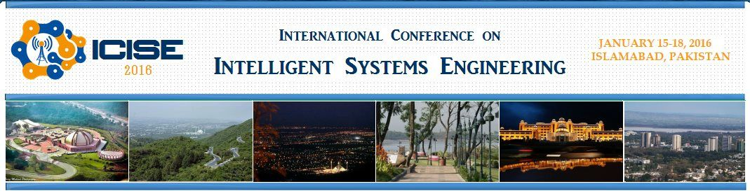 3rd International Conference on Intelligent Systems Engg 2019