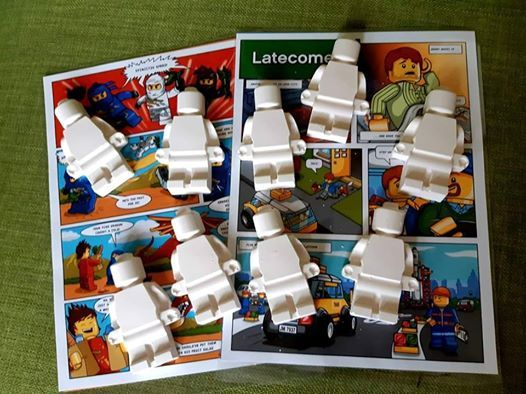 Lego Mini Figures & Easter Sand Art