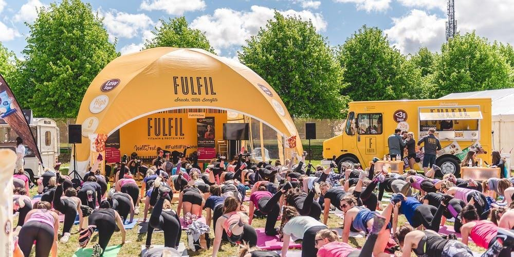 Fulfil Fit Fest Exclusive Yoga Class by Psycle London