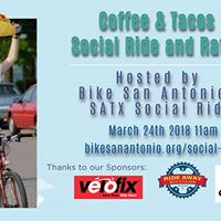Coffee &amp Tacos Social Ride and Raffle