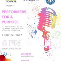 Performers for a Purpose