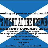 Burns Night At The Brewhouse