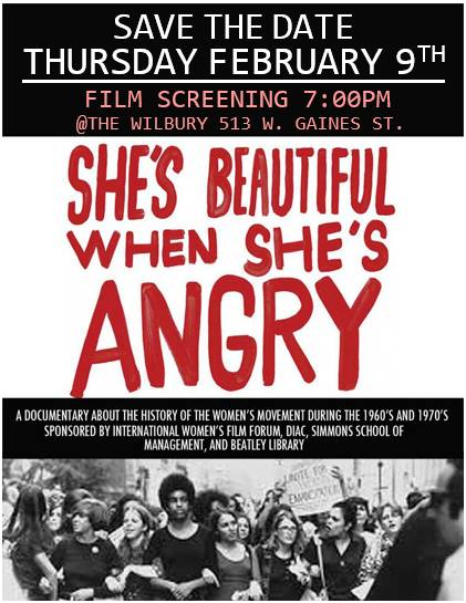 29 Shes Beautiful When Shes Angry - Free Film Screening