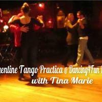 Argentine Tango Practica w Tina Marie Saturday Nov 25 2017