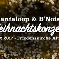 Weihnachtskonzert Cantaloop &amp BNoise