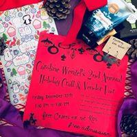 Caroline Wenzel 2nd Annual Holiday Craft &amp Vendor Fair