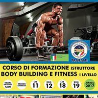 Corso Istruttori Body Building e Fitness 1 Livello