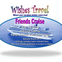 Wishes Travel Friends Cruise