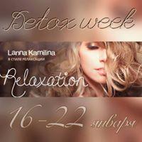 Detox week  Lanna Kamilina