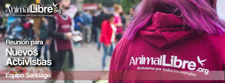 Reunin para nuevos activistas en Santiago de Chile