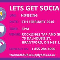 Nipissing University Social Event