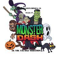 Monster Dash 5k 10k 15k Half Marathon