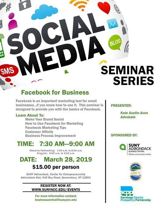 Facebook for Business - SUNY ADK Social Media Series