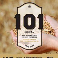 Malt 101 - Social Craft Beer Workshop