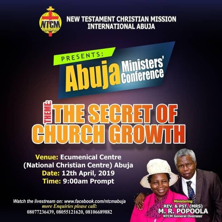 Abuja Inter-Denomination Ministers and Church Workers Conference
