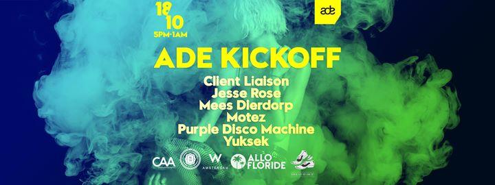 ADE Kickoff - CAA at W Amsterdam