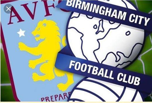 Birmingham City V Aston Villa Sunday 10th March