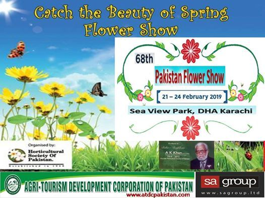 68th Annual Pakistan flower show