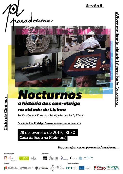 ParaDocma  Nocturnos de Aya Koretzky e Rodrigo Barros