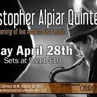 Christopher Alpiar Quintet at Mason Tavern 4-28