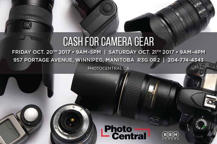 Cash for Camera Gear KEH Event
