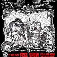 666th Annual Punk Rock Halloween Bash - Yucca Tap Room