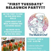 First Tuesdays - Relaunch Party Edition