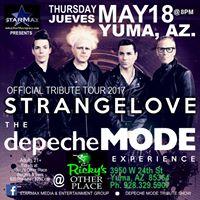 Depeche Mode Tribute Show In Yuma