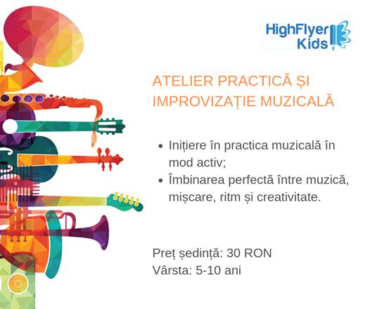 Practic si improvizatie muzicala pentru copii 5 - 10 ani