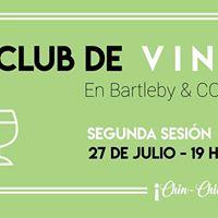 Cabernet y Merlot a Ciegas  Club de Vinos 2 en Bartleby &amp Co