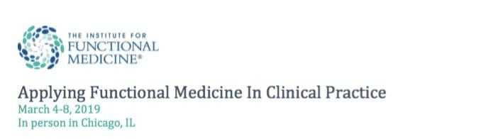 IFM ConferencevApplying FxMed in Clinical Practice