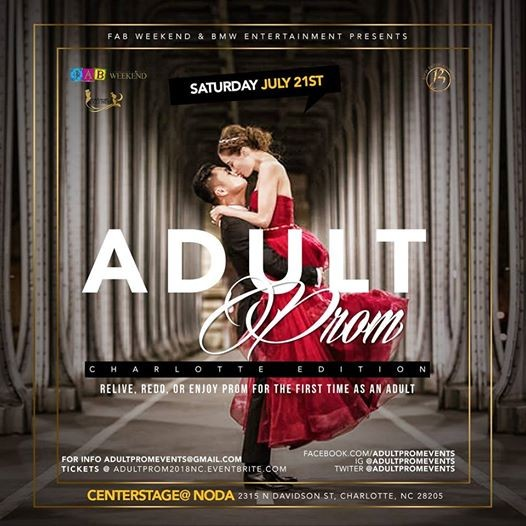 IF Only For One Night 2018 Adult Prom Charlotte NC Edition